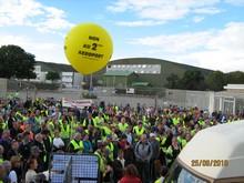 Enorme succès de la manifestation du 25 septembre