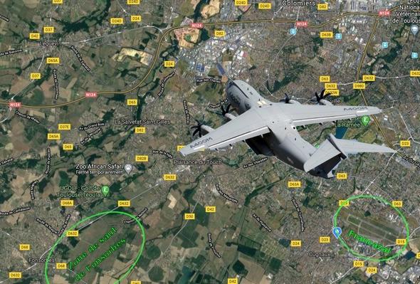 Noria des avions